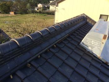 屋根リフォーム 中津川 雨漏りが、まったくなくなりました。しっくいも綺麗に塗っていただきました。