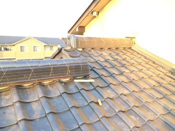 屋根も軽量化され、見違えて綺麗に施工して頂きました。ありがとうございました。
